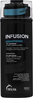 Truss Infusion Conditioner for Dry, Damaged Hair - 100% Vegan Base Deeply Hydrates, Protects & Restores for Strong, Soft, Shiny Hair - Anti-aging Conditioner For Color Treated Hair