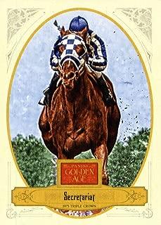 2012 Panini Golden Age Horse Racing Card IN SCREWDOWN CASE #108 Secretariat ENCASED