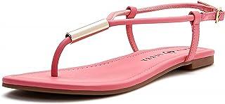Katy Perry Women's The Jule Flat Sandal, Oasis Pink, 7.5