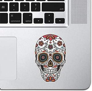 """Ornamental Sugar Skull Keyboard, Keypad Vinyl Macbook Decal Sticker - Skin Track Pad MacBook Pro Air 13"""" 15"""" 17"""" iPad Lapt..."""