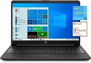 "HP 15.6"" FHD, Celeron N4020, 4GB RAM, 128GB SSD, Windows 10 Home in S Mode, Free one Year Microsoft Office"
