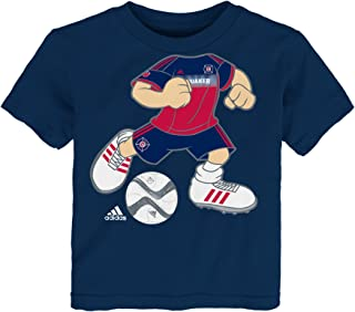 "MLS Toddler Boys""Dream Job"" Short Sleeve Tee, Toddler, R 4PADXP CH, Dark Red, 4T"