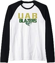 UAB University Alabama Birmingham Blazers NCAA 1700CF01 Raglan Baseball Tee