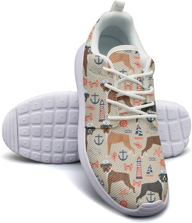 Gjsonmv Boston Terrier Vintage Flowers mesh Lightweight shoes for Women lace up Sports Badminton Sneakers shoes