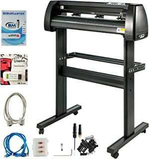 VEVOR Vinyl Cutter 34 Inch Plotter Machine Signmaster Software Sign Making Machine 870mm Paper Feed Vinyl Cutter Plotter w...