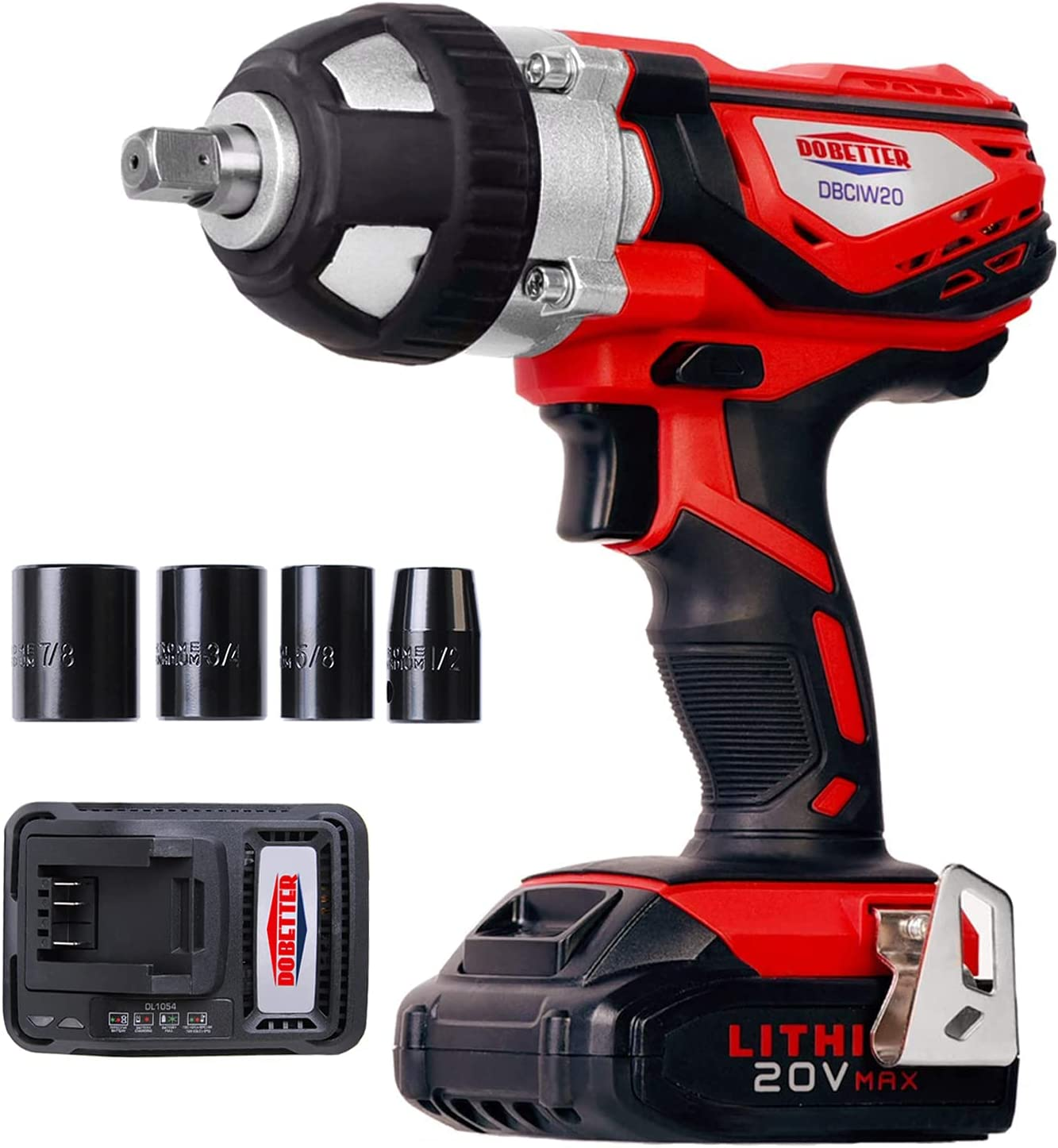 Dobetter DBCIW20 Impact Wrench To Change Tires