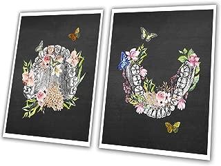 GnosisCollageArt Dental Art Human Teeth Anatomy Flower Butterflies Art Collage Unframed Print Dental_Floral_Chk2A 24