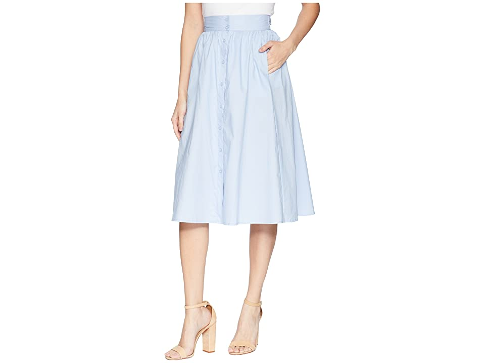 ASTR the Label Shayla Skirt (French Blue) Women