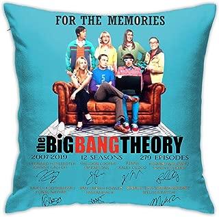 Mr.ChenHong Thank You for The Memories The Big Bang Theory Pillowcase