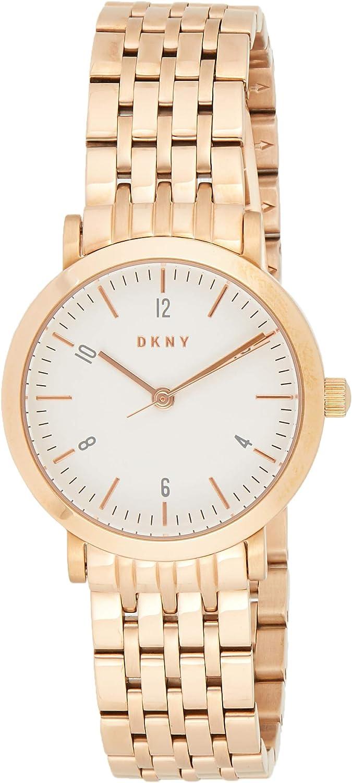 DKNY Reloj Analógico para Mujer de Cuarzo con Correa en Acero Inoxidable NY2511