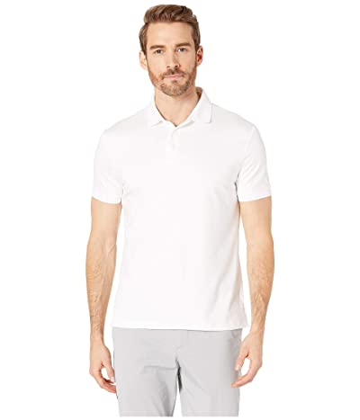 Calvin Klein The Liquid Touch Polo (Standard White) Men