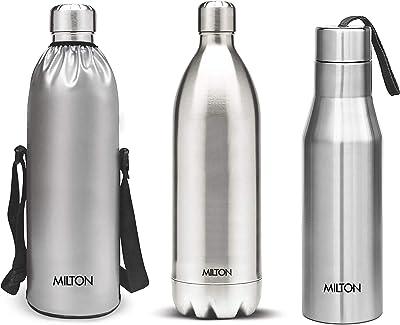 MILTON Stainless Steel Water Bottle, 1 Piece