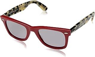 RB2140 Original Wayfarer Sunglasses, Red/Polarized Grey, 50 mm