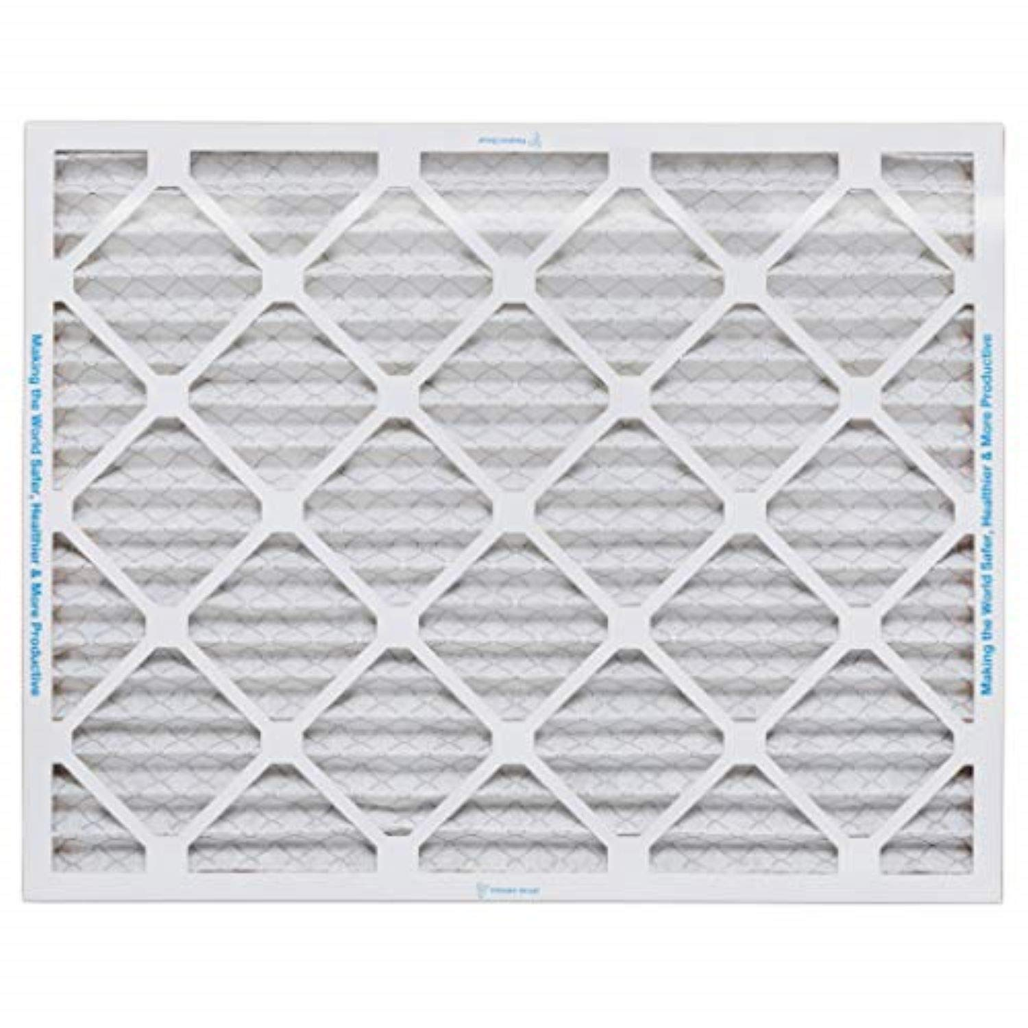 4-Pack White Made in The USA Aerostar Clean House 16x25x1 MERV 8 Pleated Air Filter
