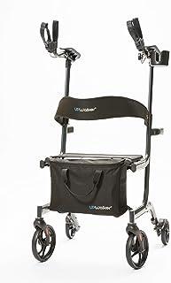 UPWalker Lite Original Upright Walker – Lightweight, Stand Up Rollator Walker & Walking Aid with Seat – Easier Handling & ...