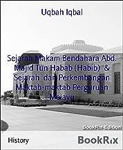 Sejarah Makam Bendahara Abd. Majid Tun Habab (Habib) & Sejarah dan Perkembangan Maktab-maktab Perguruan Melayu (Spanish Edition)