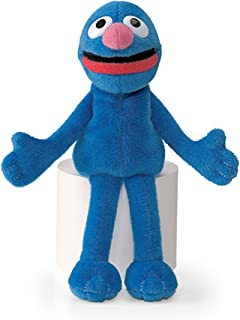 Sesame St -  Grover Beanie 15cmStuffed Plush Toy,17 x 17 x 6cm