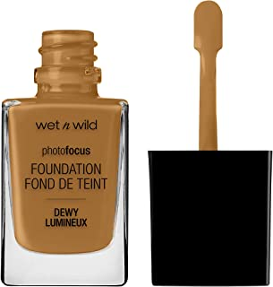 wet n wild Photo Focus Dewy Foundation, Cocoa, 1.06 Ounces