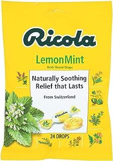 Ricola Lemon Mint Throat Drop ( 12x24 CT)