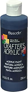 DecoArt DCA29-9 Crafters Acrylic, 8-Ounce, Navy Blue