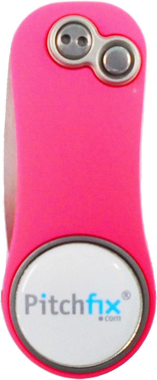 Pitchfix New Financial sales sale Hybrid 2.0 Pink Divot National uniform free shipping Tool Pencil White Ballmarker