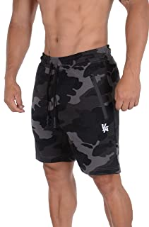 Mens Shorts with Zipper Pockets | Casual Gym Training 108