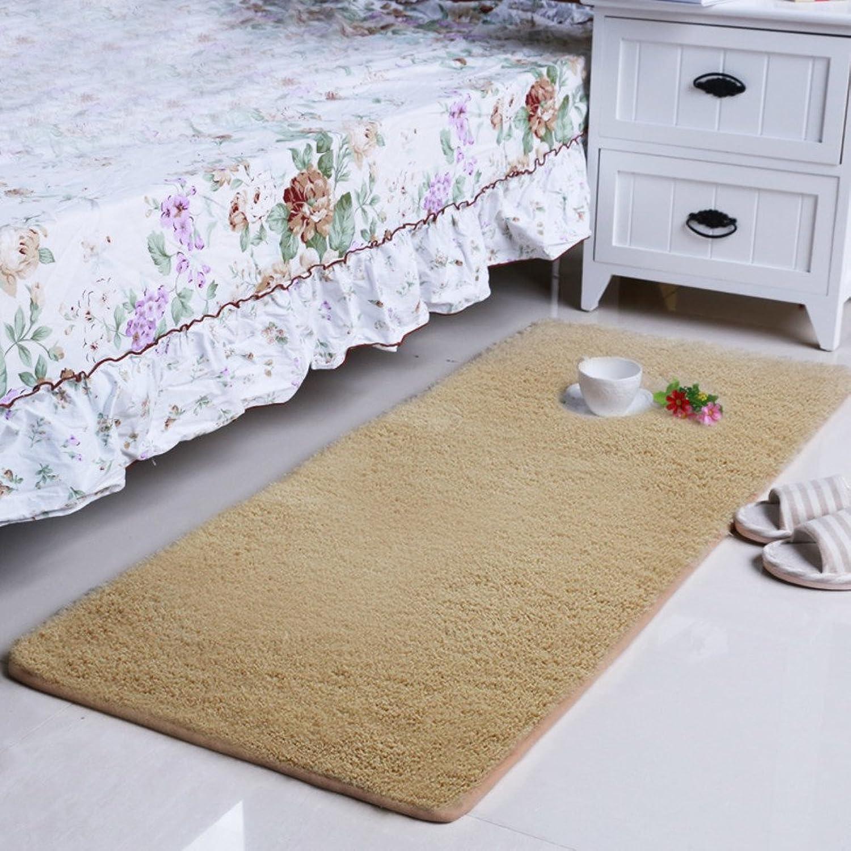 Bedside mats Rectangle mats Bedroom Living Room Carpet-C 70x150cm(28x59inch)