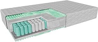 Colchón infantil 4kids OTRANTO con visco, viscosa y espuma termoplástica, dureza: H3/H3, dureza media/media, altura: 10 cm, cubierta hipoalergénica extraíble (80 x 160 cm)