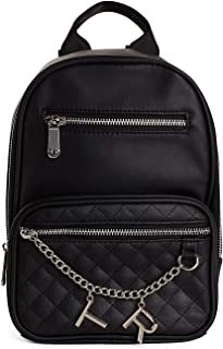 Women's Mini Backpack With Chains