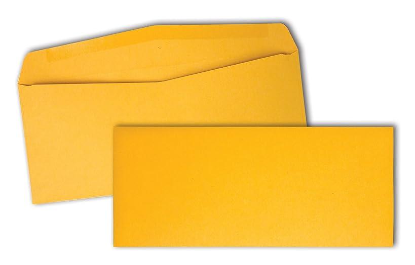 Quality Park Kraft Business Envelopes, 28lb, #10, 4-1/8 x 9-1/2, 500/Box (11162)