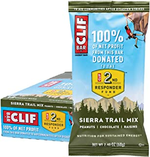 CLIF BAR - Energy Bars - Sierra Trail Mix - (2.4 Ounce Protein Bars, 12 Count)