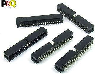 5 Pz x IDC 2.54mm Connettore PCB 26 Poli Diritto #A1954 POPESQ/®