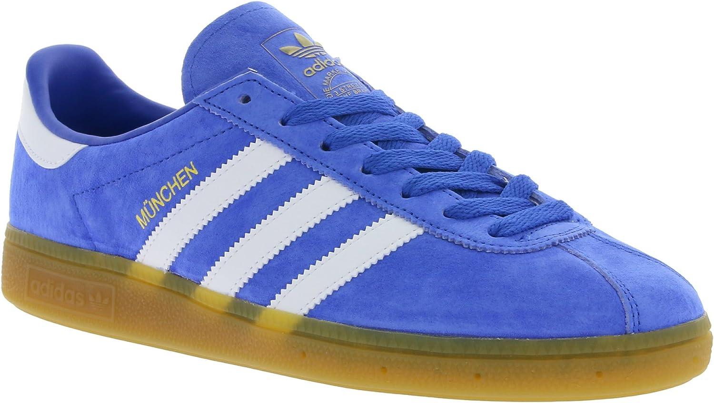 Adidas Adidas München Blau Weiß Gum3  wird abgezinst