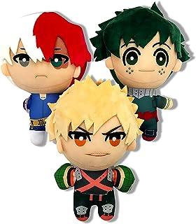 3PCS Anime Plush My Hero Academia 5