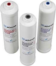 Tap Master ISetTMA8 Artesian And HydroGardener Replacement Water Filter Change Set, White
