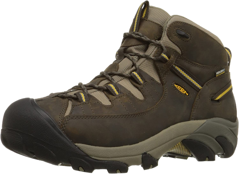 KEEN 55% OFF Men's Targhee II 35% OFF Waterproof Boot Hiking Mid
