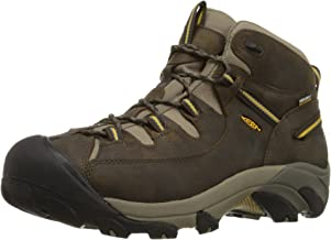 hiking boots yellow