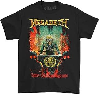 Men's New World Order Mens Regular T T-Shirt Black