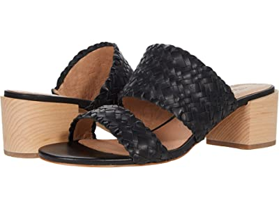Madewell The Kiera Mule Sandal in Woven Leather