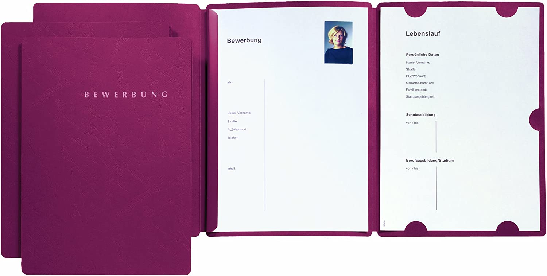 Pagna Bewerbungsmappe Swing Blau Online Bestellen Muller 4