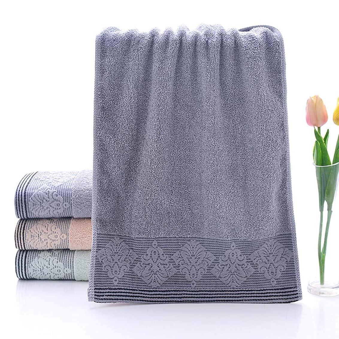 ゴール大脳不従順綿のタオルの速い乾燥したタオルのスポーツタオルの容易な心配,Gray,33*73cm