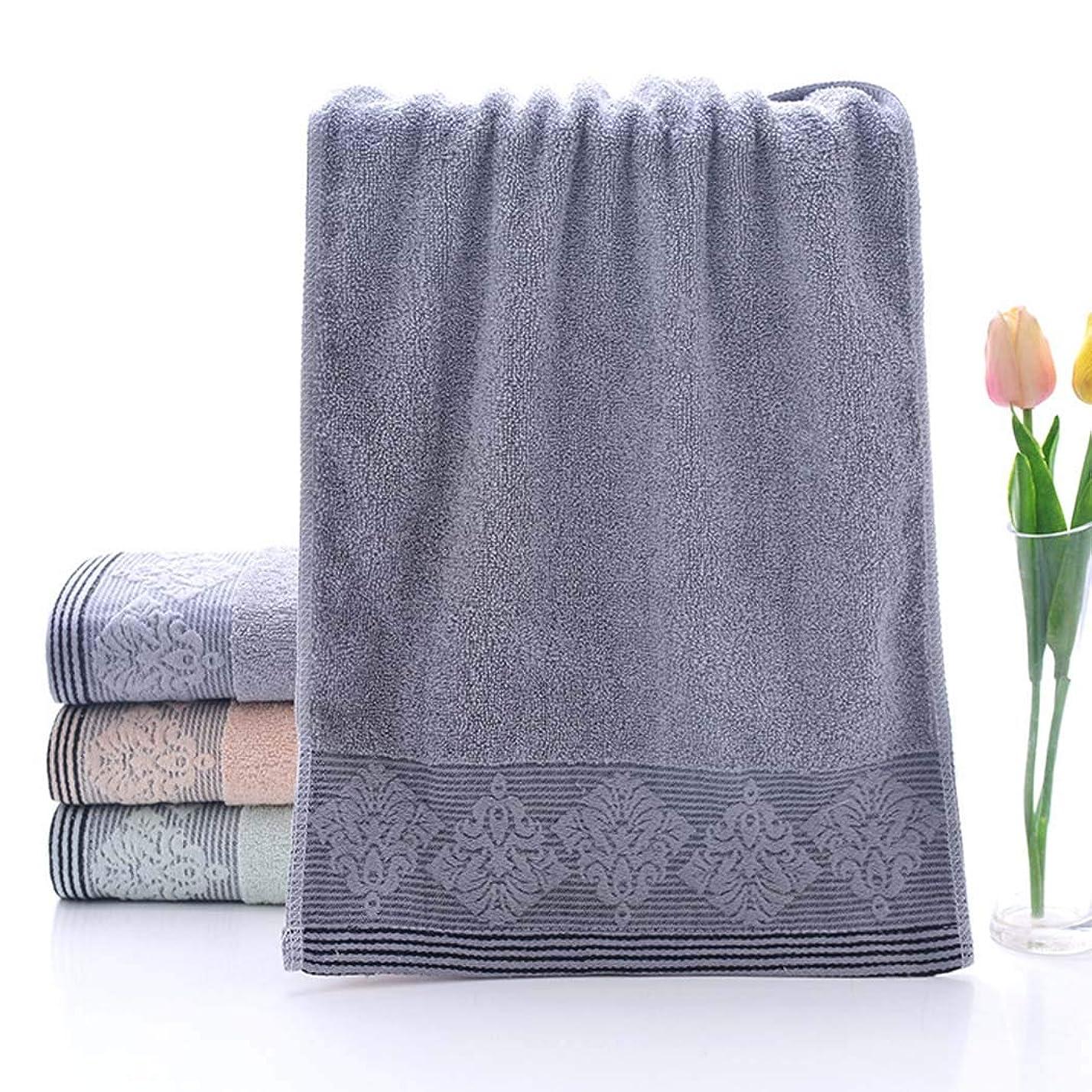 悪化する丘学習綿のタオルの速い乾燥したタオルのスポーツタオルの容易な心配,Gray,33*73cm