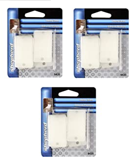Shepherd Hardware 9435 Wedge-It White Plastic Shims, Sold as 3 Pack, 18 Count Total