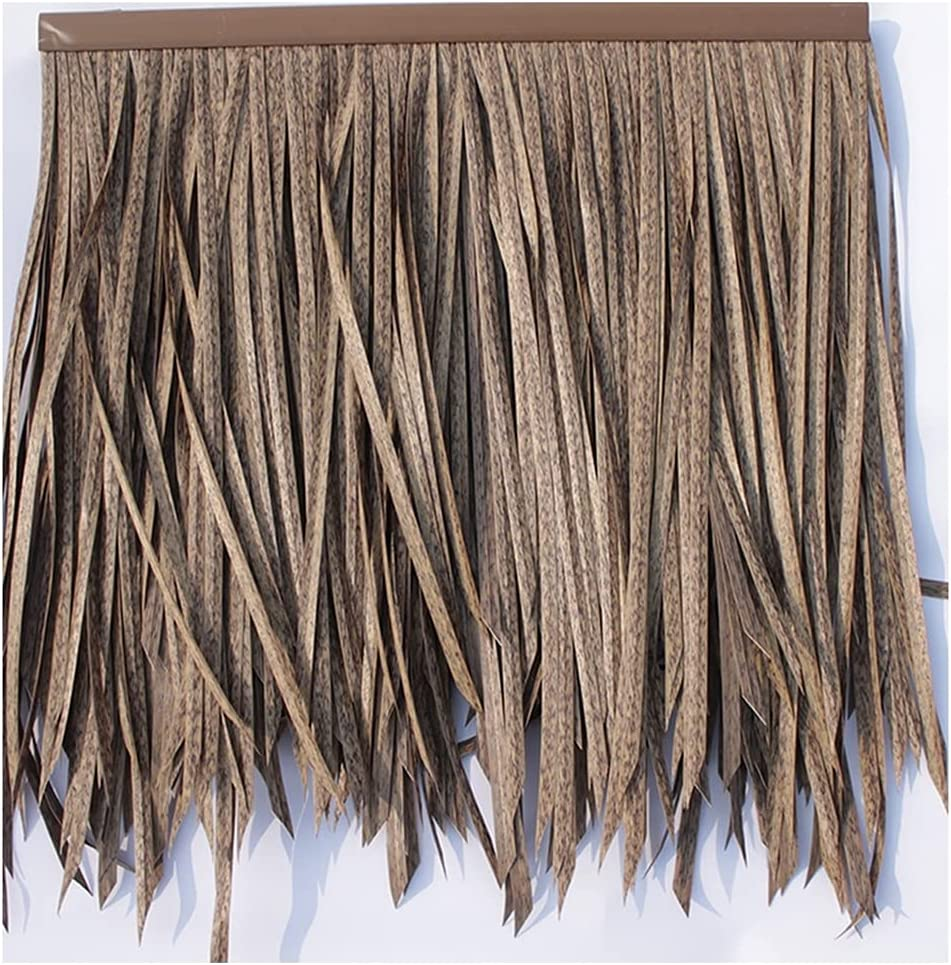Nippon regular agency Palm Leaf Now on sale Simulation Thatch Tile Hair Flame Grass PE Artificial