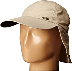 No Fly Zone Nylon Cap with Sun Shield