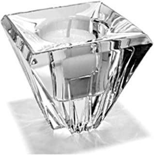 Lenox Crosswinds Contemporary Crystal Votive Candle Holder from The Ovations Collection