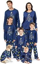 PajamaGram Star Wars Christmas Pajamas - Matching Christmas PJs for Family, Blue