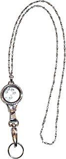Floating Locket 30mm Lanyard, Women's Fashion Badge holder 34