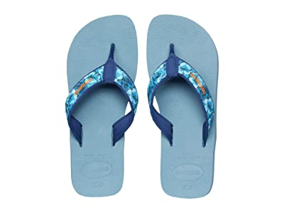 Havaianas Surf Material Sandal (Silver/Blue) Men
