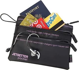 Travel Pocket 3-Zip Jetsetter